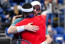Frances Tiafoe and Andy Murray