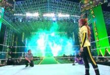Becky Lynch defeated Sasha Banks and Bianca Belair at Crown Jewel 2021