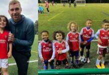 Zayn Ali Salman the youngest Arsenal wonderkid