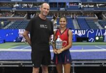 Andrew Richardson and Emma Raducanu