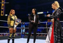 Becky Lynch and Charlotte Flair segment on Smackdown saw unplanned title throw - Reports