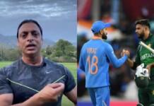 Shoaib Akhtar comments on India-Pakistan match