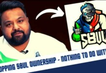 BGMI: 8bit Goldy steps down as the co-owner of Team S8UL