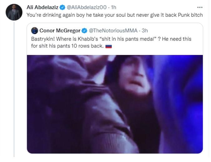 Conor McGregor Ali Abdelaziz