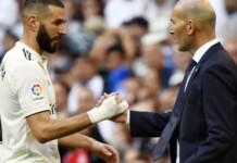 Benzema and Zidane
