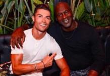 Cristiano Ronaldo and Michael Jordan