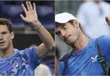 Diego Schwartzman and Andy Murray