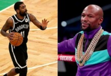Floyd Mayweather Supports Kyrie Irving