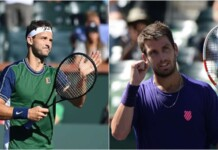 Grigor Dimitrov vs Cameron Norrie will clash at the Indian Wells Masters 2021