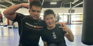 Henry Cejudo and Zhang Weili