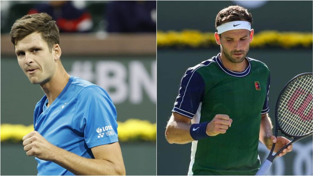 Hubert Hurkacz vs Grigor Dimitrov will clash at the Indian Wells Masters 2021
