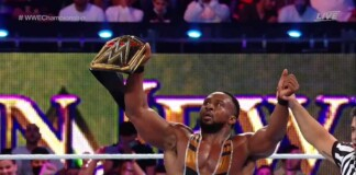 Big E defeated Drew McIntyre at Crown Jewel 2021 to retain the WWE Championship