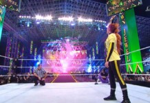 Becky Lynch defeated Sasha Banks and Bianca Belair at Crown Jewel 2021 to successfully retain the Smackdown Women's Championship at Crown Jewel 2021
