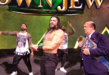 Roman Reigns survives against Brock lesnar at crown Jewel 2021