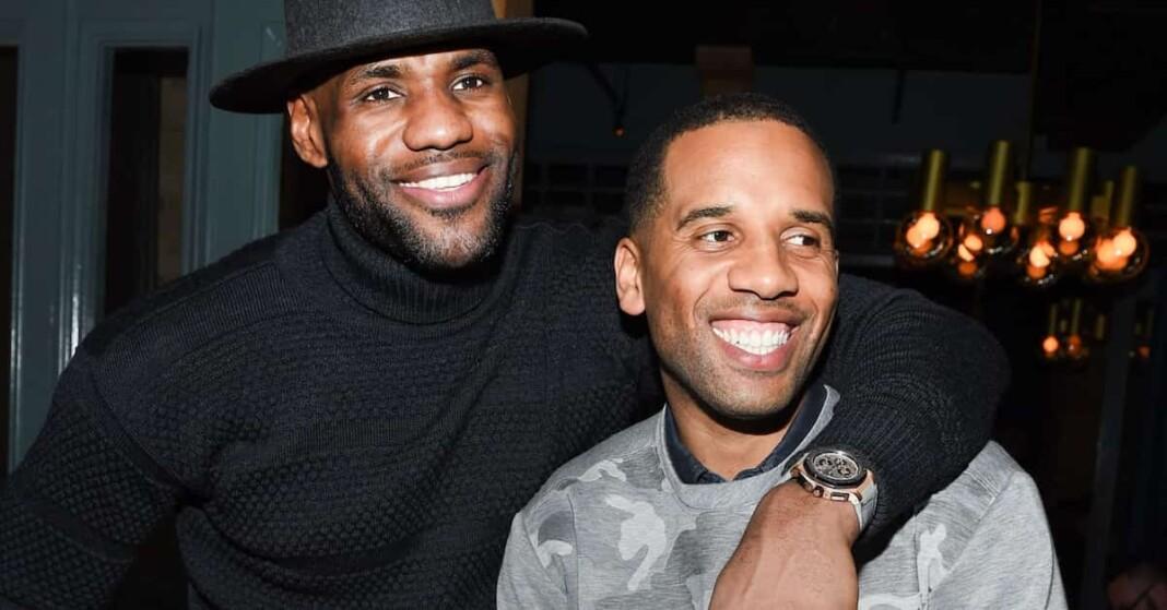 LeBron James and Maverick Carter