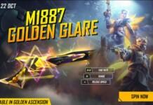 M1887 Golden Glare in Free Fire
