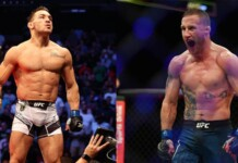 Michael Chandler and Justin Gaethje