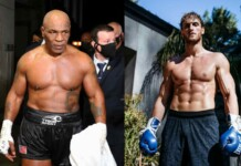 Mike Tyson and Logan Paul