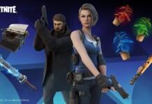 Fortnite Resident Evil Skins: Chris Redfield and Jill Valentine added in Season 8