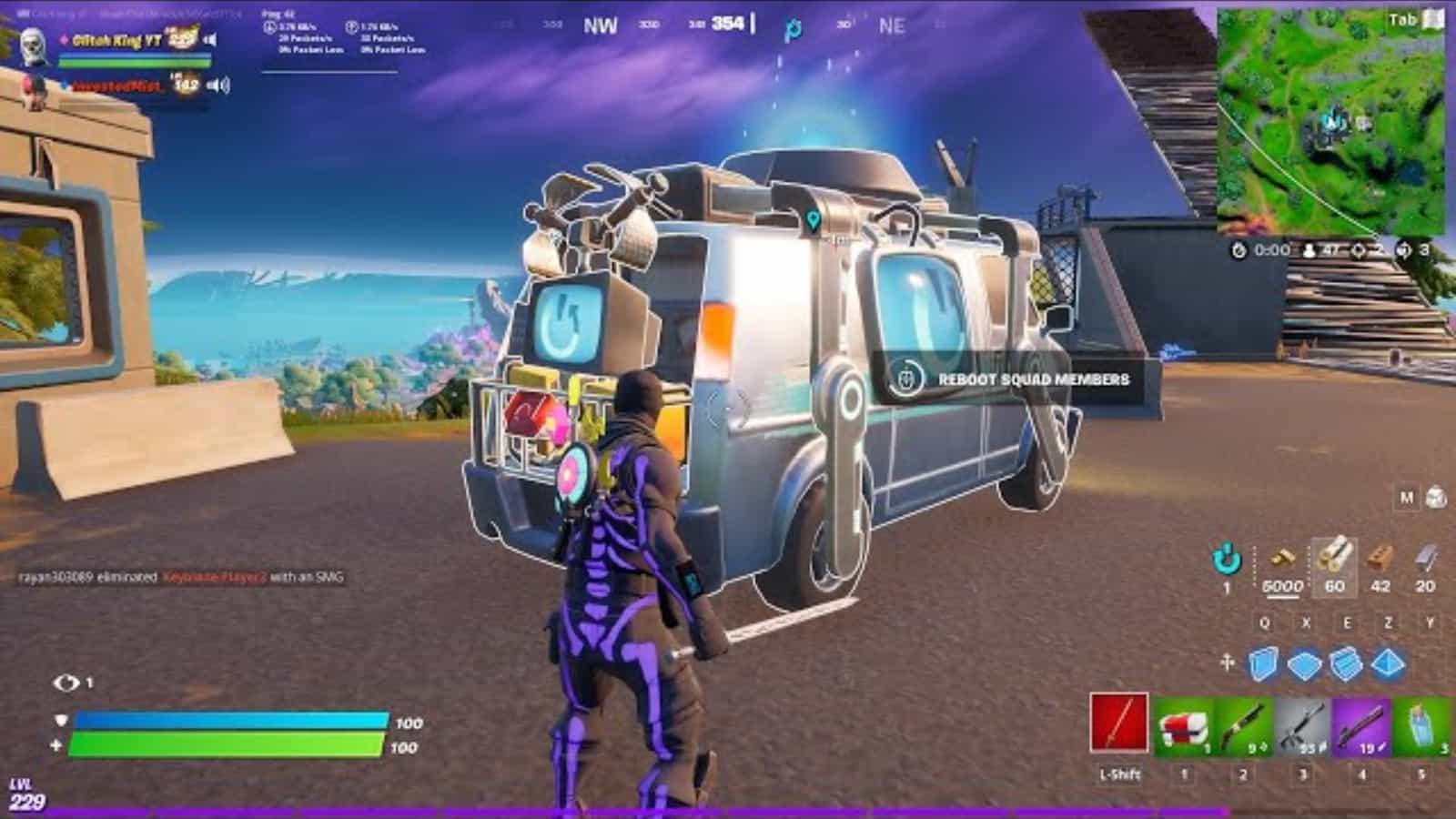 New Fortnite Reboot Van glitch gives players permanent mythic abilities