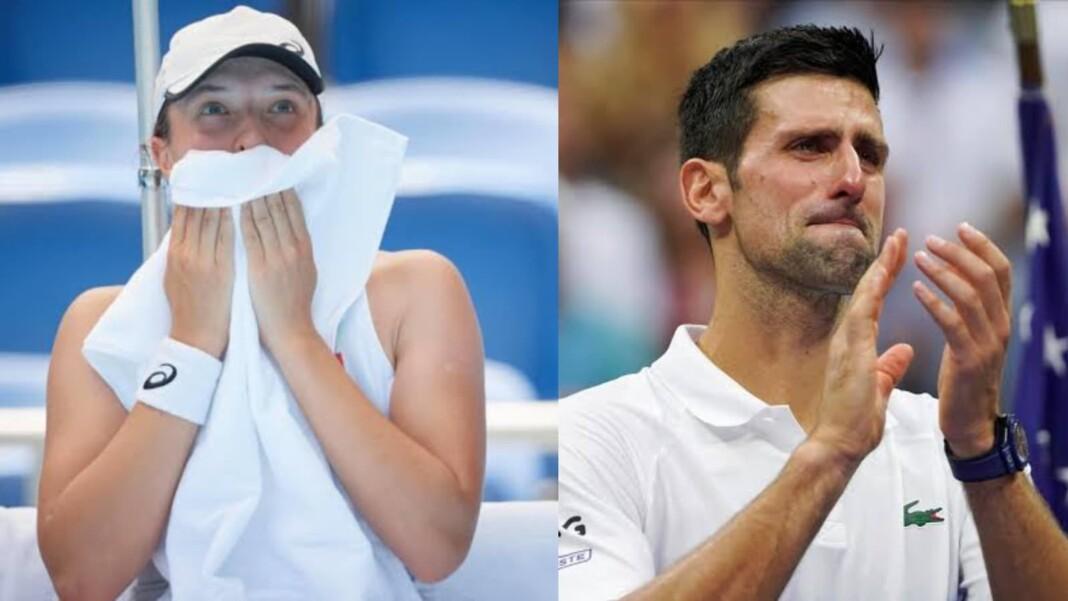 Iga Swiatek and Novak Djokovic