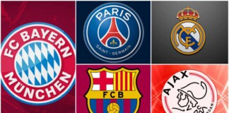 The Big Guns disappoints as Bayern Munich, PSG, Real Madrid, FC Barcelona and Ajax all faulters this weekend