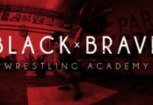 What is the Black and Brave Wrestling Academy?