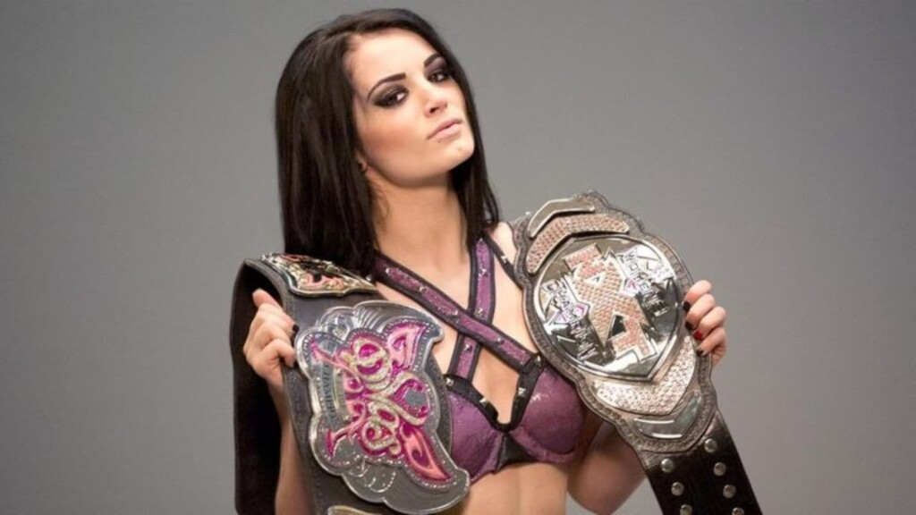 Paige is a double champion in WWE