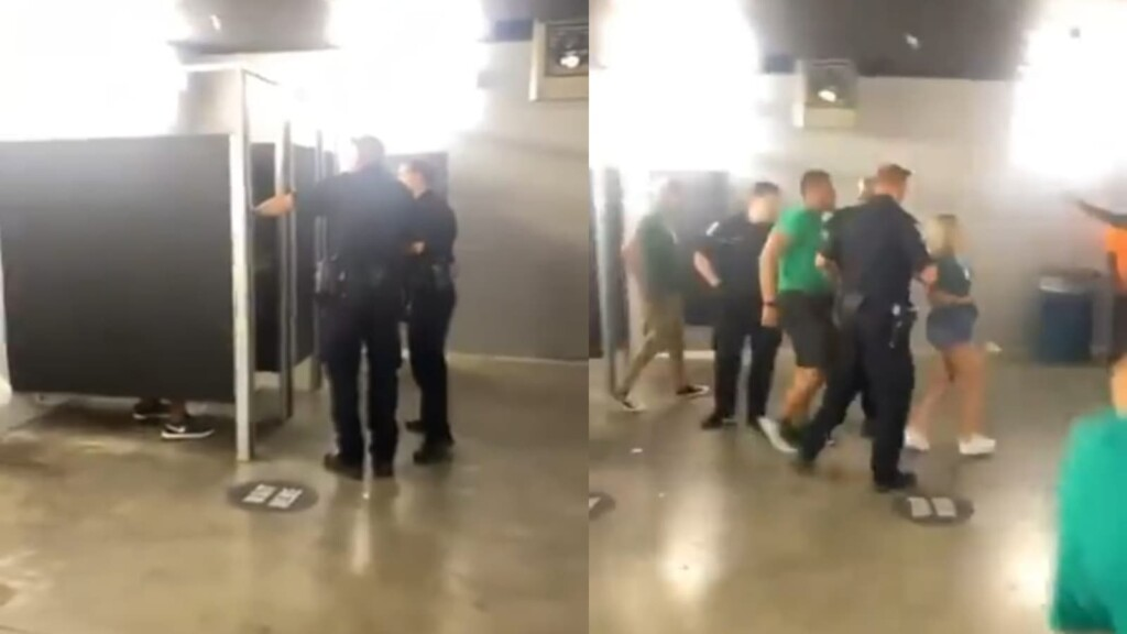 Couple caught having sex at Eagles game