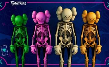 How to Get New Fortnite Kaws Skin: Skeleton theme outfit in Season 8