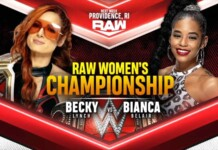 Becky Lynch to defend her championship against Bianca Belair next week on Raw
