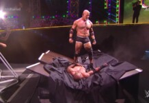 Goldberg defeated Bobby Lashley in a brutal No Holds barred match at Crown Jewel 2021