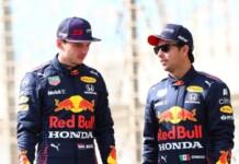 Verstappen and Perez