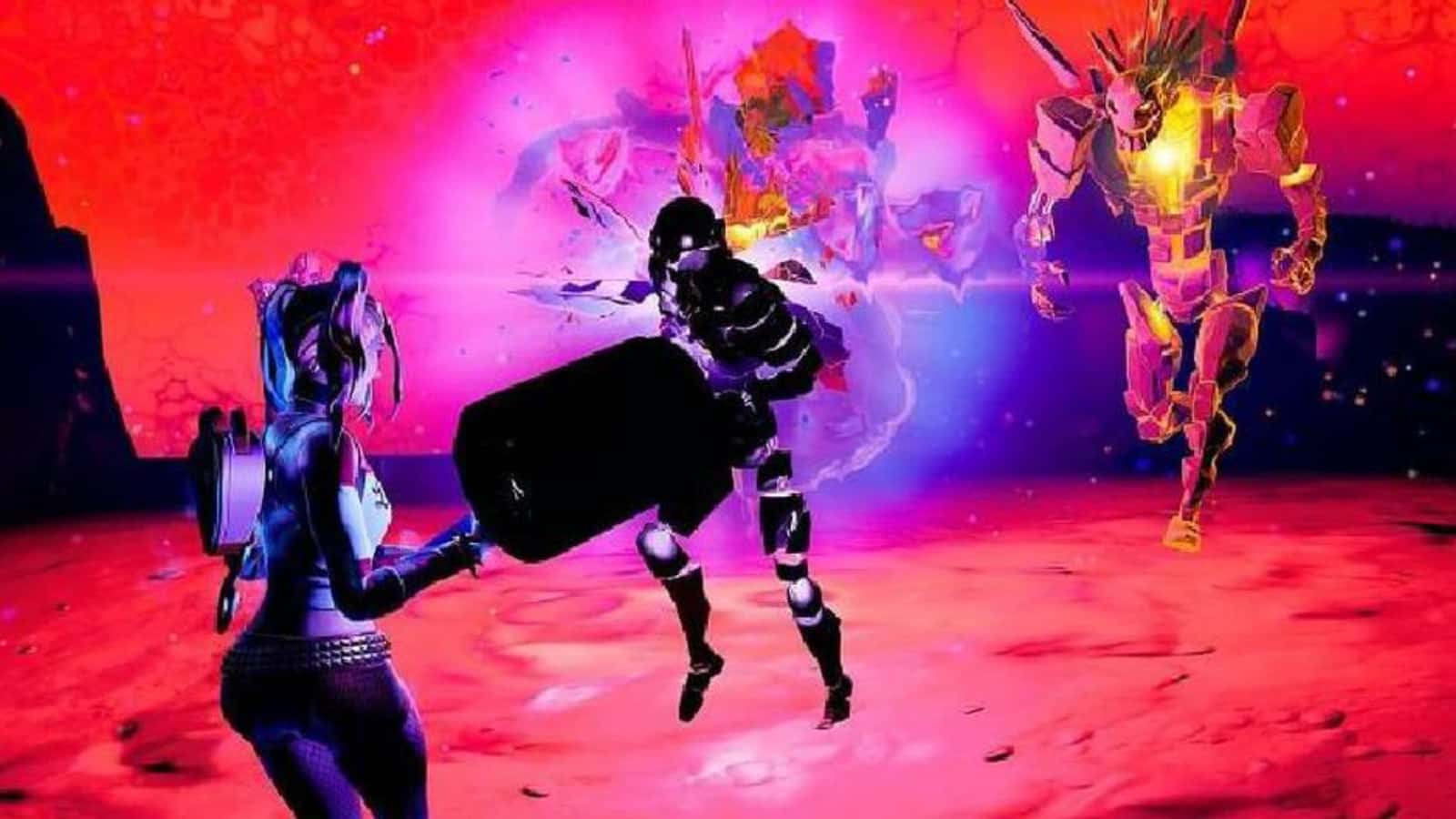 How to eliminate Fortnite Cube Monsters in the Sideways in Season 8