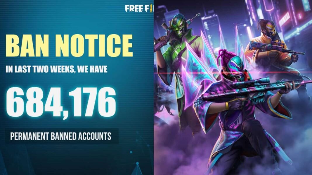 free fire account ban