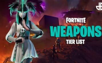 Fortnite Chapter 2 Season 8 Gun Tier List: Best and Worst weapons