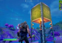 Fortnite Golden Cube turns into an elevator: Fixed at the center of the map in season 8