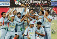 India win the 2007 World T20