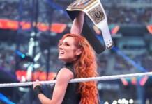 Becky Lynch won the Smackdown Women's Championship at Summerslam