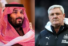 Steve Bruce gets sacked by the new Saudi owners of Newcastle United
