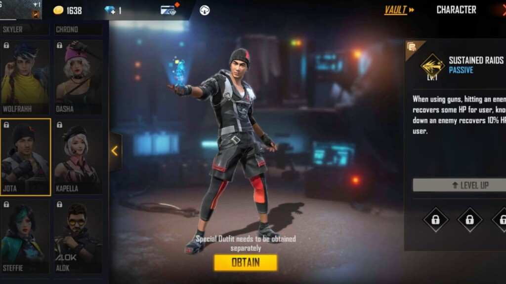 best characters in free fire max