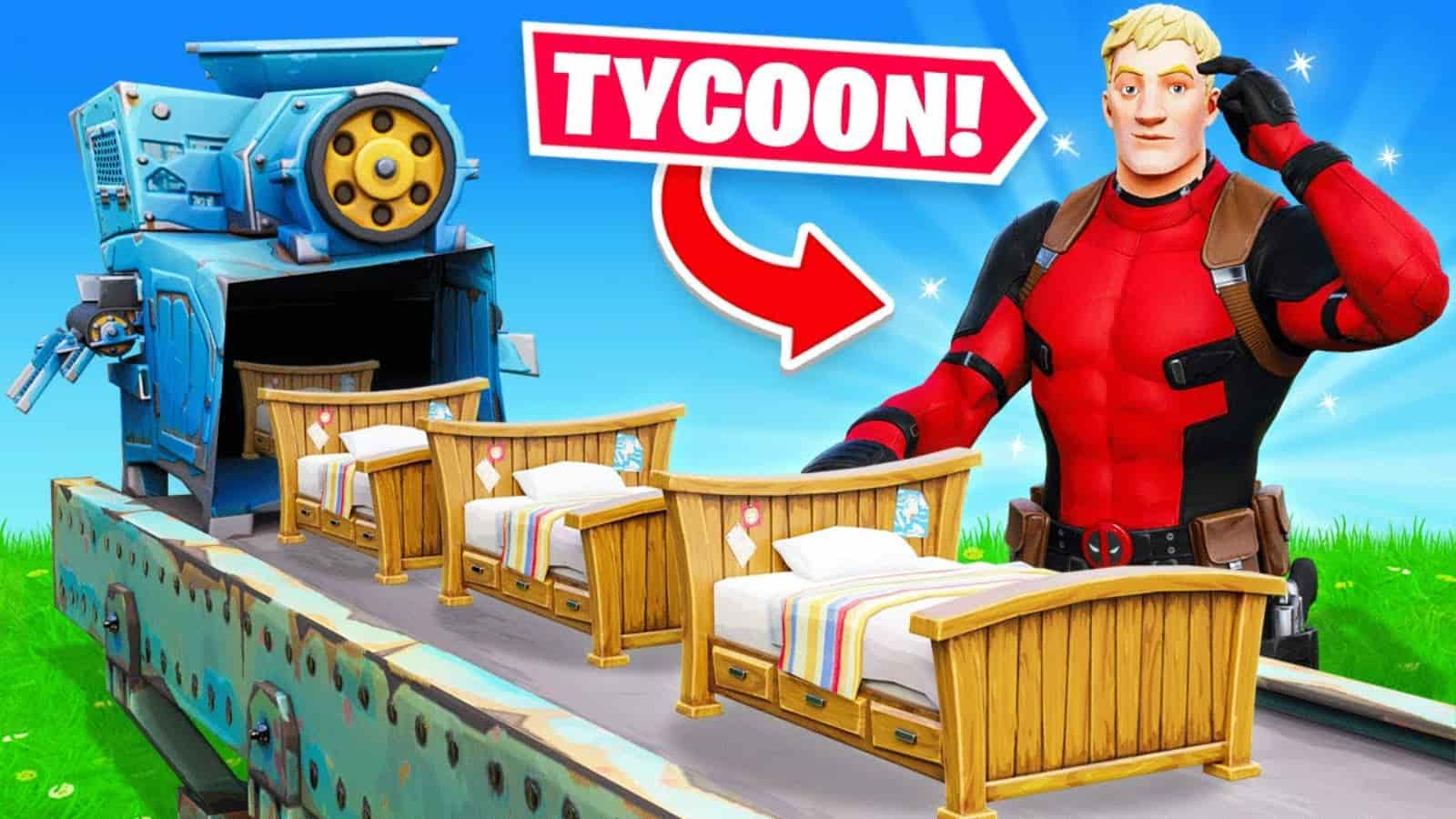 New Fortnite Choppa Bed Wars Tycoon Creative Code and How to Play
