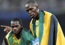 Nesta Carter and Usain Bolt