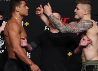 Paulo Costa Marvin Vettori UFC Vegas 41 weigh ins
