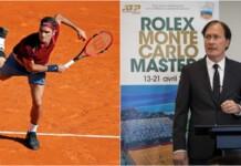 Roger Federer and Zeljko Franulovic