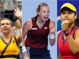Simona Halep, Anett Kontaveit and Emma Raducanu - top 3 seeds of the Transylvania Open 2021