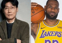 Squid Game Creator Hwang Dong-Hyuk and LeBron James