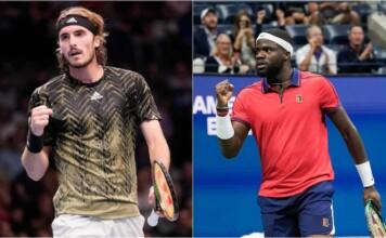 Stefanos Tsitsipas vs Frances Tiafoe will clash at the ATP Vienna 2021