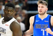 Zion Williamson and Luka Doncic