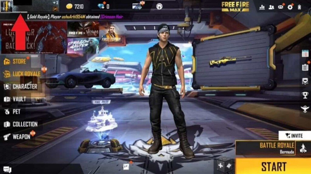 Change Name In Free FIre Max